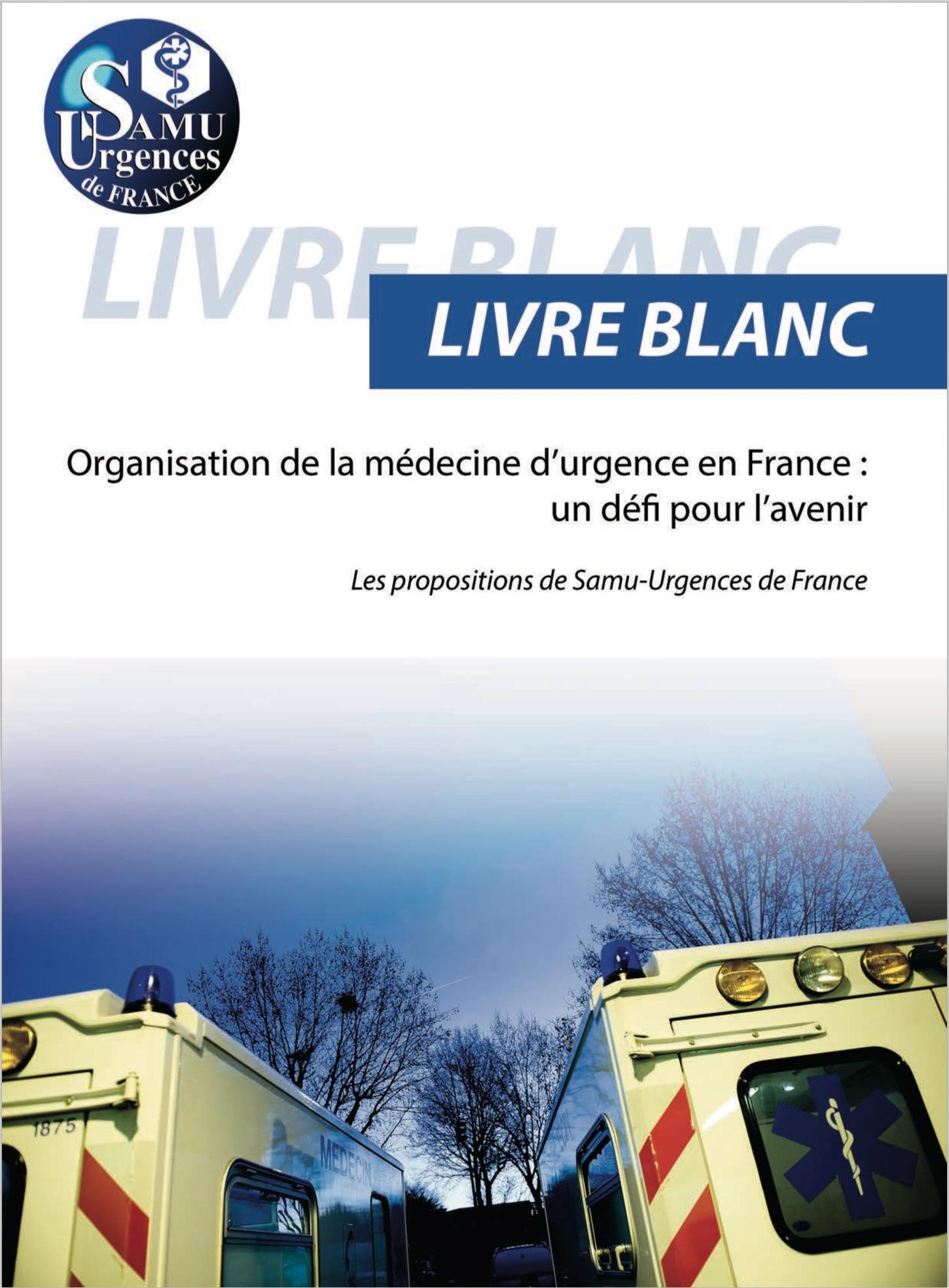 Livre blanc de la médecine d'urgence: IADE en colère