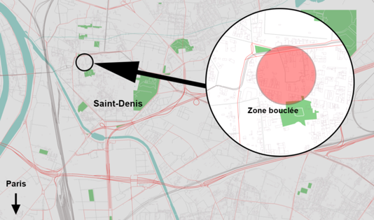 Assaut policier à Saint-Denis