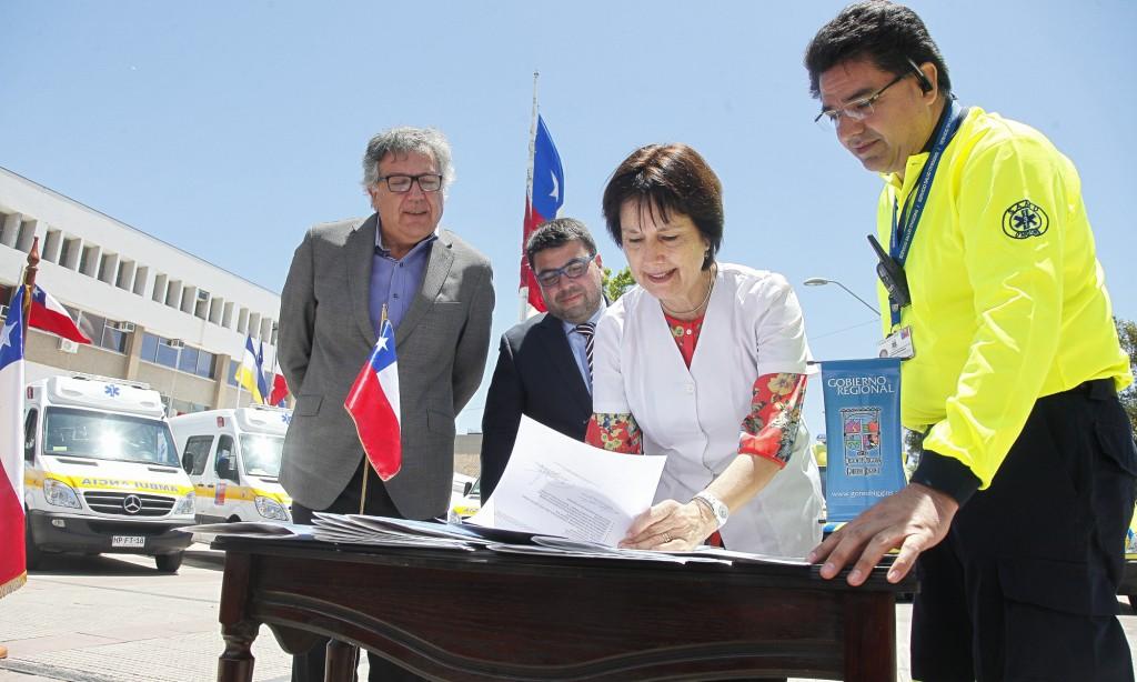 Chile – Región de O'Higgins cuenta con diez nuevas ambulancias para emergencia avanzada y SAMU