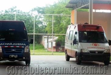SAMU utiliza ambulância emprestada de empresa para realizar seus serviços de atendimentos