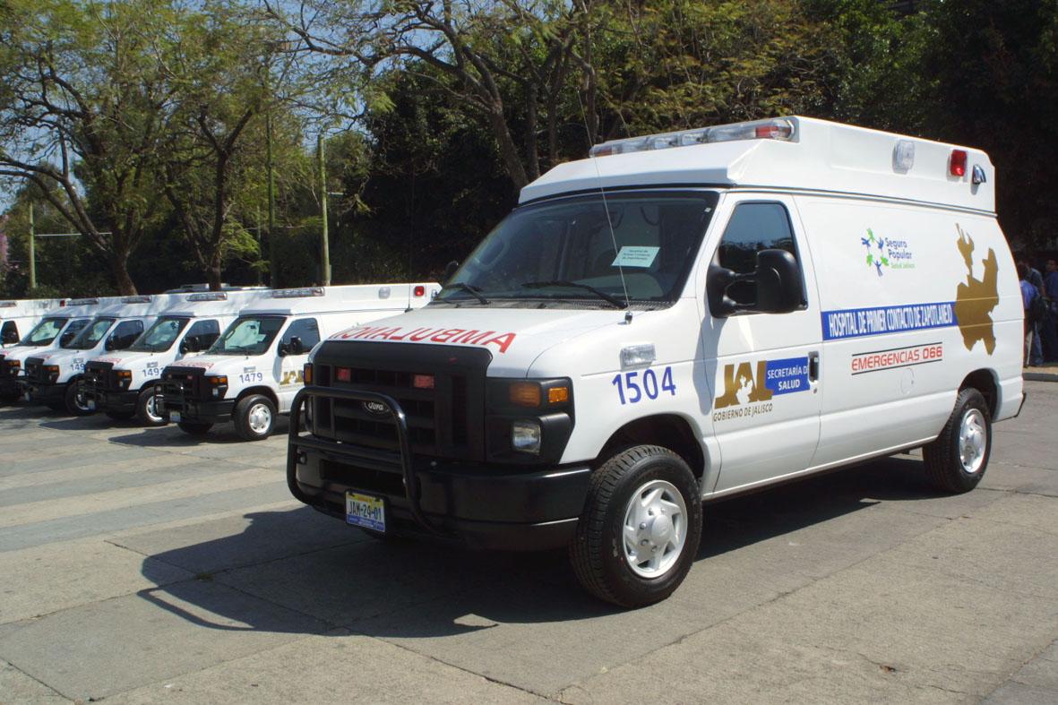 Mexico – Entregan seis ambulancias a municipios de Jalisco