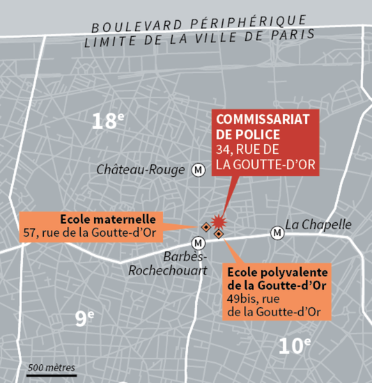 Attentat au commissariat du 18e arrondissement