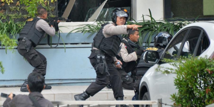 Attaque terroriste à Jakarta