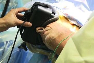 Première mondiale: lunettes 3D dans l'opération au cerveau