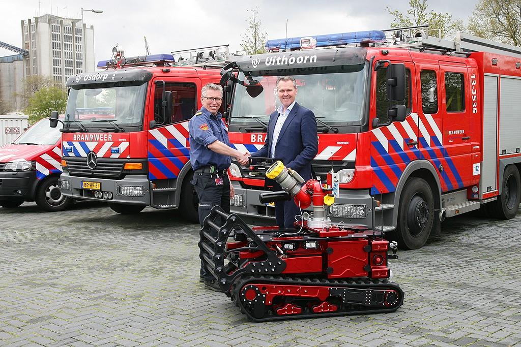La gamme de robot pompier de TECDRON gagne du terrain en Europe