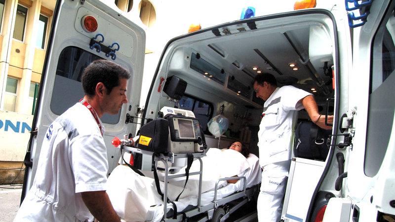Ambulancier: les risques du métier