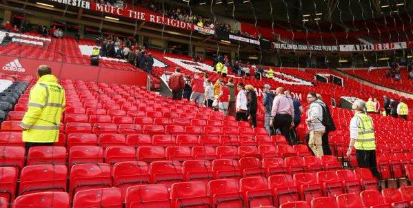 Engin explosif factice dans le stade de Manchester