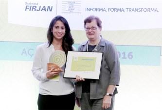 Carbografite Recebe Prêmio da Firjan por P.G.A