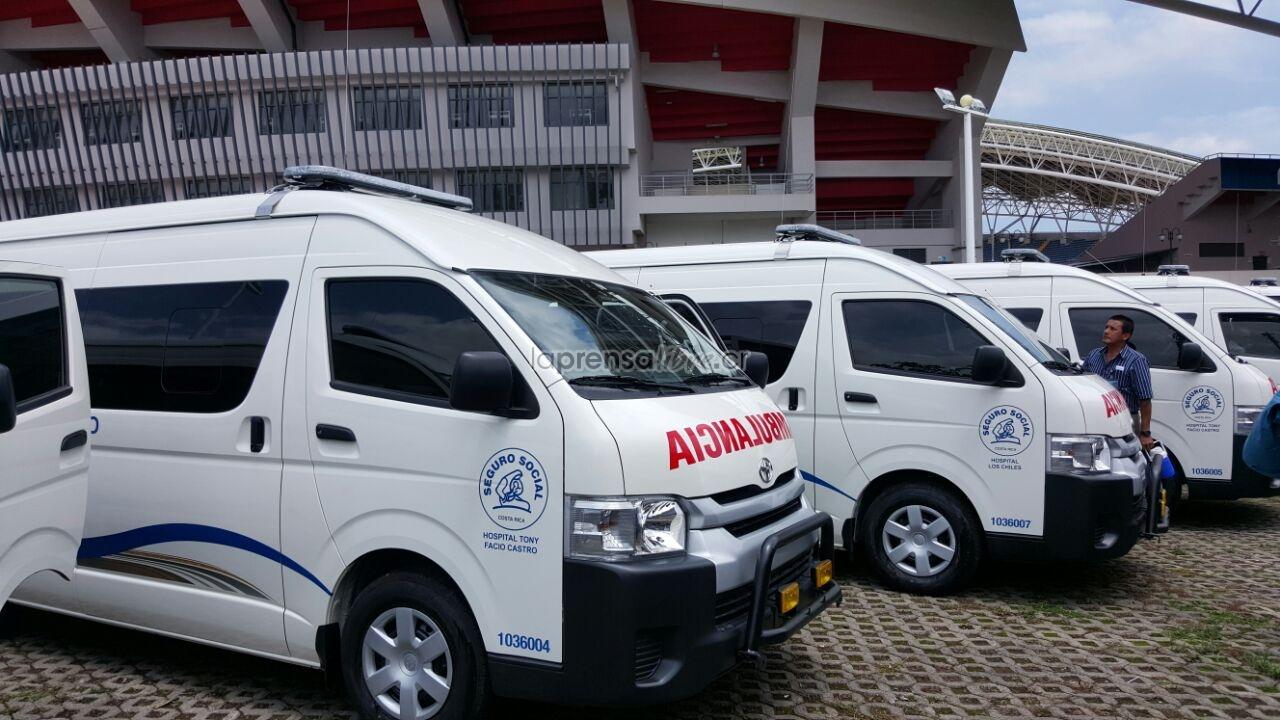 Costa Rica – Caja compra 111 nuevas ambulancias