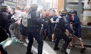 Euro 2016: les affrontements et les arrêts