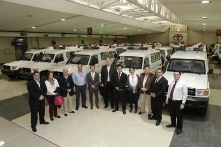 PARAGUAY: Itaipu adquiere 50 ambulancias para el servicio de la salud pública