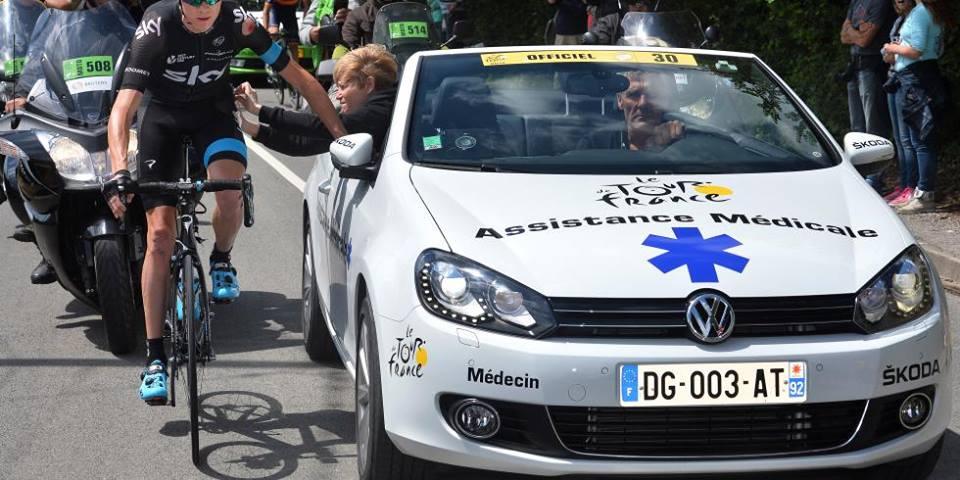 Tour de France, une équipe médicale toujours en alerte!