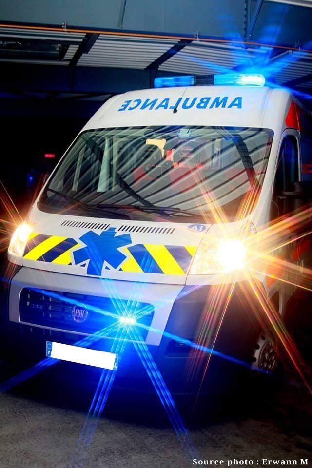 Quel est le coût du transport d'une personne en ambulance?