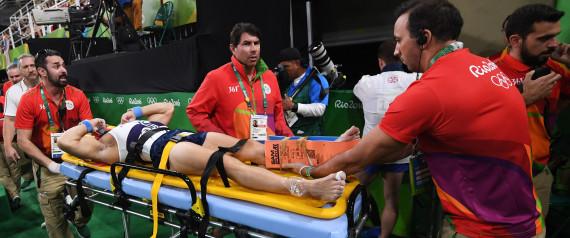 JO Rio 2016. La grave blessure du gymnaste français et les bonnes pratiques d'immobilisation!