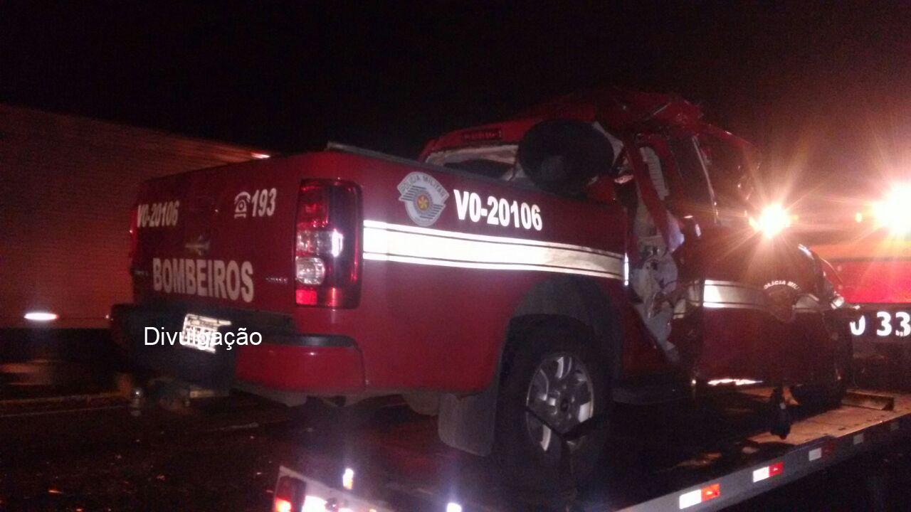 Capitão do Corpo de Bombeiros morre após acidente no interior de SP