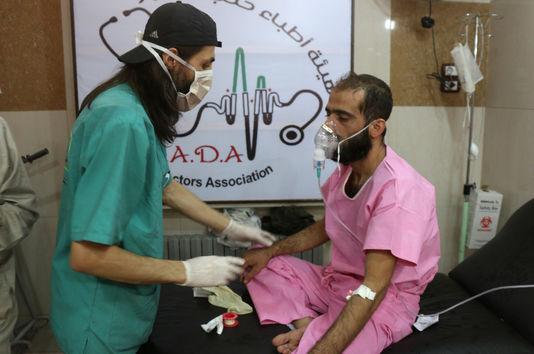 Médecins du monde lance son cri contre la guerre à Alep