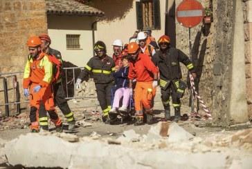 Italie sous attaque: nouveau séisme de magnitude supérieure à 6