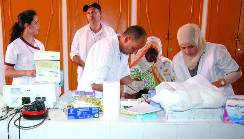 En 2 jours 90 operations chirurgicales et 3500 examens medicaux dans la caravane medicale à Errachidia