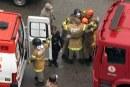 Bombeiros comemoram resgate após acidente no Rio de Janeiro