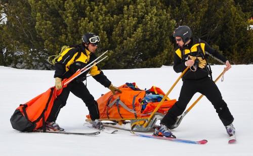 Comportements qui sauvent, l'accident de montagne