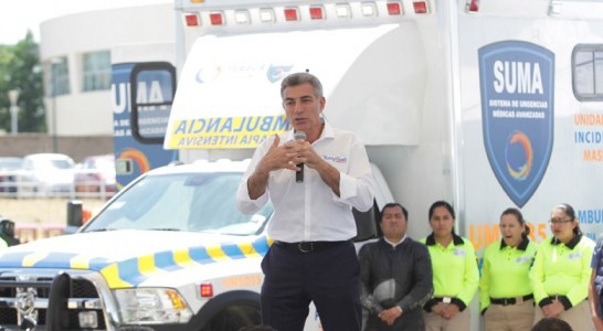 Mexico – Gobiernos federal y de Puebla adquieren ambulancias para incidentes masivos