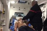 Les pompiers font les électrocardiogrammes