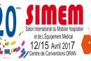 20ème SIMEM: 12-15 avril Centre de Convention d'Oran
