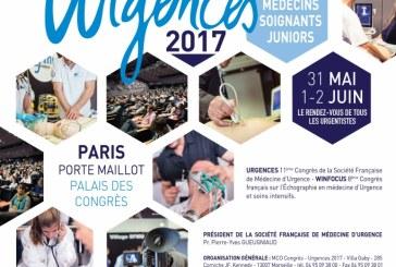 Urgences 2017: 31 mai – 2 juin Paris, Porte Maillot