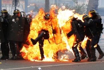 6 policiers blessés, violence et sécurité dans la Manifestation du 1er Mai