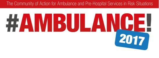 #Ambulance! 2017 : Equipos de rescate de todo el mundo, abierta la inscripción