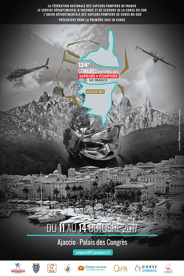 124ème Congrès National des Sapeurs-Pompiers: 11-14 octobre, Ajaccio