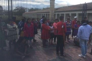 ONU DD.HH. y UNICEF hacen llamado a la protección de niños, niñas y mujeres indígenas desplazados en Bogotá