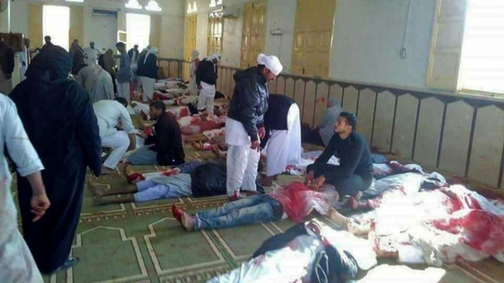 Attaque à une mosquée, 305 morts en Egypte
