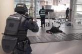 Simulation d'une attaque terroriste à l'aéroport de Tarbes  et dans les sanctuaires de Lourdes