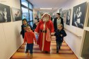 L'hélicoptère du Samu porte Père Noël a livrer les cadeaux aux enfants malades