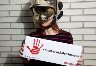 Campagne #TouchePasàMonPompier
