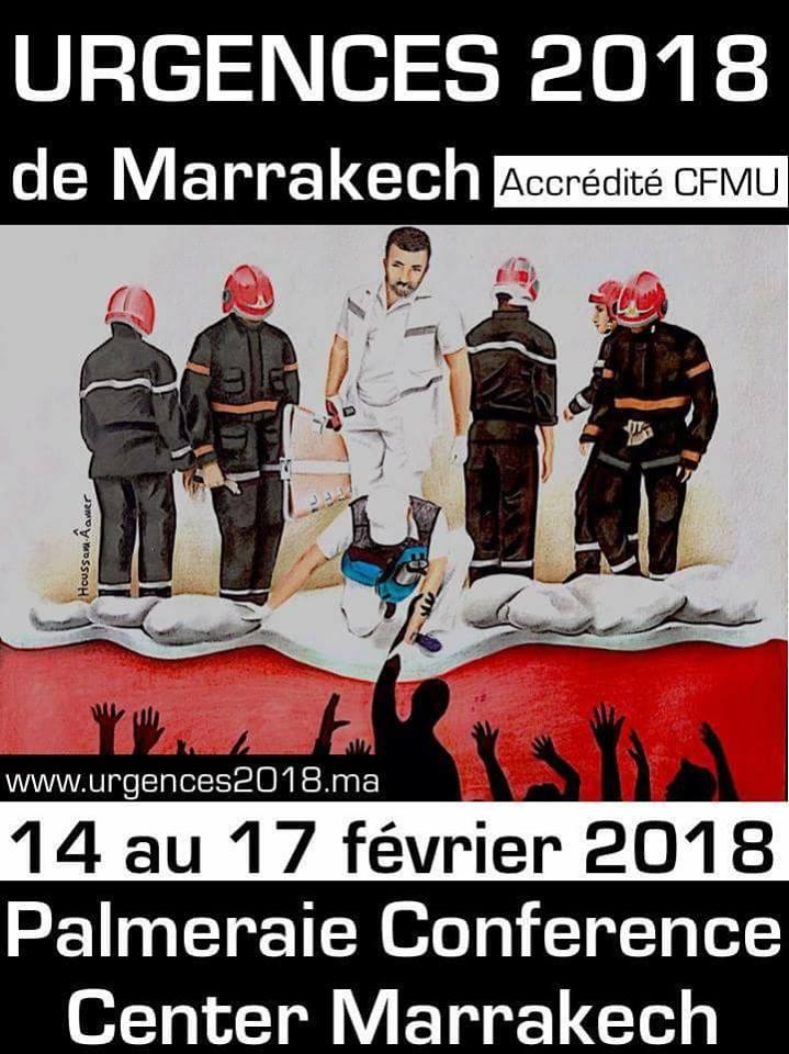 Congrès Urgences 2018 de Marrakech