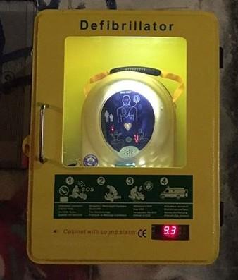 Teca Legnano defibrillatore