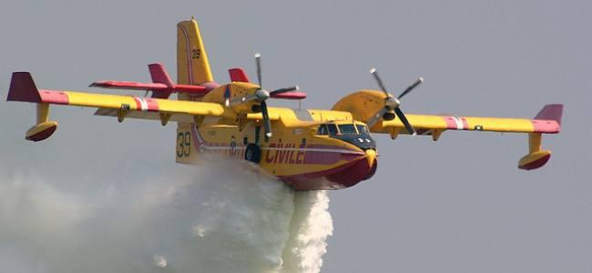 Protezione civile: canadair italiano a Cipro per vasto incendio
