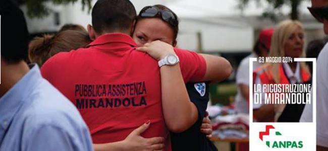 Sisma 2012, Mirandola ringrazia i volontari Anpas