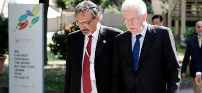 Conferenza Europea Croce Rossa, Monti: Dalla crisi si esce solo insieme