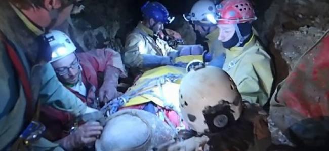 Salvataggio in una grotta in Germania, partecipa anche l'Italia