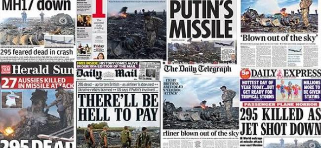 Tragedia in Ucraina, abbattuto da un missile il volo MH17