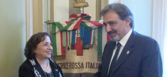 Gaza, Rocca (CRI) incontra a Roma l'ambasciatrice palestinese