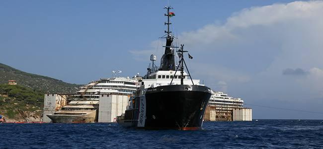 Costa Concordia, si parte domani. Ecco il Timelapse