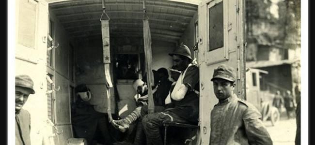 La prima guerra mondiale nella storia dell'Ambulanza