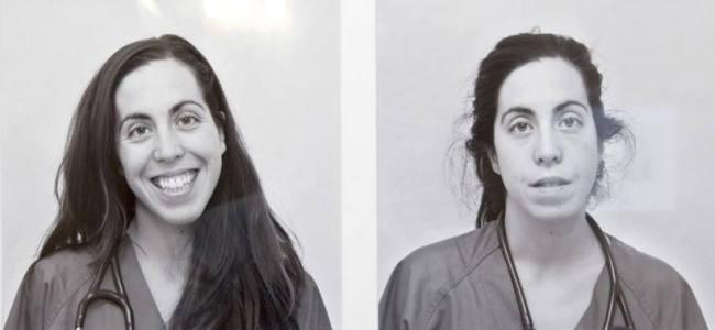 Prima e dopo un turno: ecco le foto sotto stress medici spagnoli