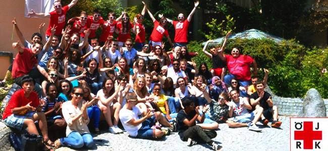 I Giovani della CRI all'International Study and Friendship Camp