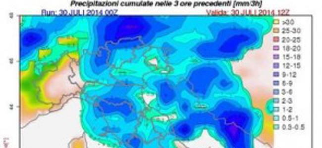Maltempo e allagamenti, l'Italia alle prese con la pioggia