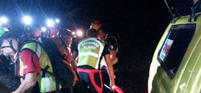Val Camonica, 7 ore di soccorso per salvare un operaio